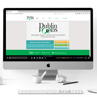 Dublin Foods Vending Website