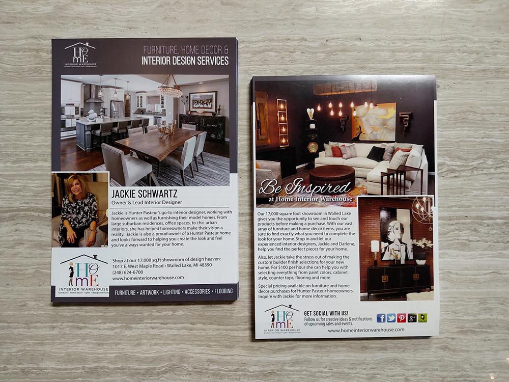 Hiw Interior Designer Flyer Triad Marketing Solutions