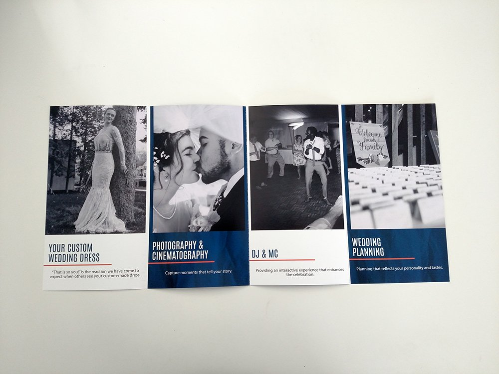 ido 4 panel brochure triad marketing solutions